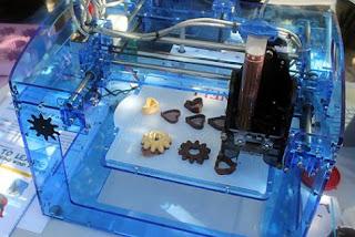imprimante 3 d chocolat
