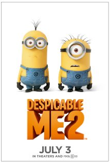 Film Despicable Me 2 (3D) (2013) di Bioskop Blitzmegaplex Bekasi Cyber Park Bekasi