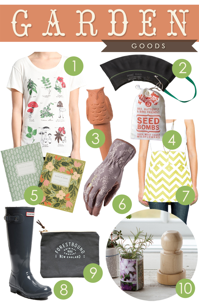Wishlist Wednesdays - Garden Goods - A Wayward Wind