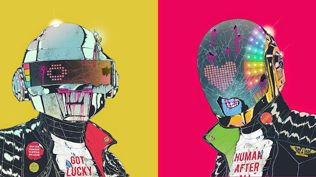 Wallpaper Full HD de Daft Punk