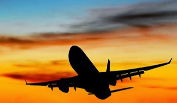 عند هبوط الطائرة في الولايات المتحدة