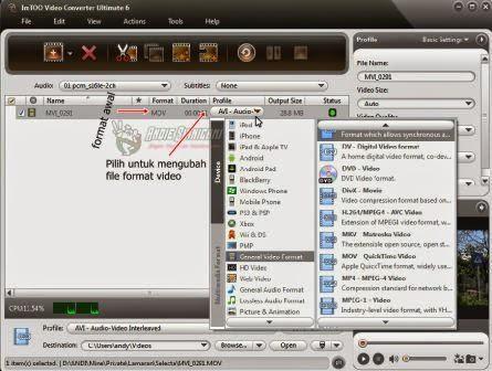Cara Baru Merubah Format Video ke MP4, 3GP, AVI dan MP3