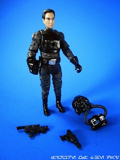 Black Squad TIE Pilot (2013 Legacy Collection Droid Factory)