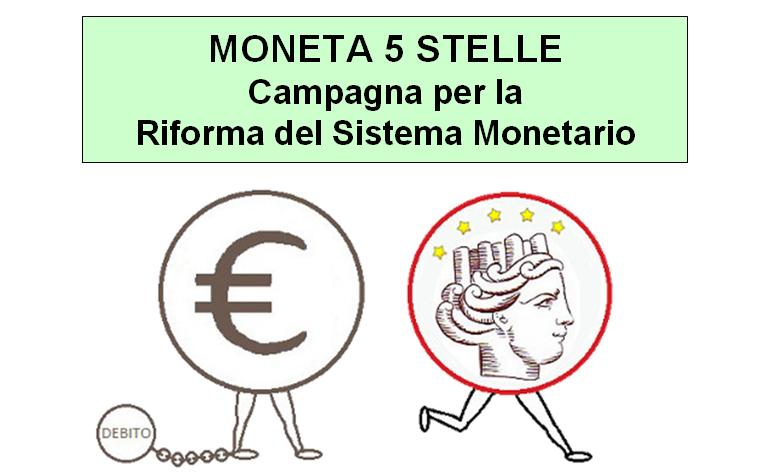 "VIDEO ""MONETA 5 STELLE"""