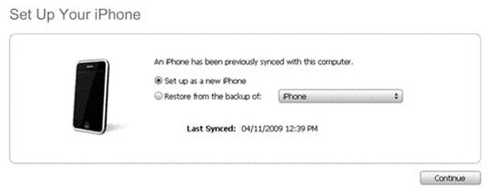 and you are done. Enjoy, sell or give away your renewed iPhone 3GS.