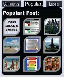 Rounded popular post