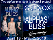 G.J. Cox-THE ALPHAS' BLISS Giveaway