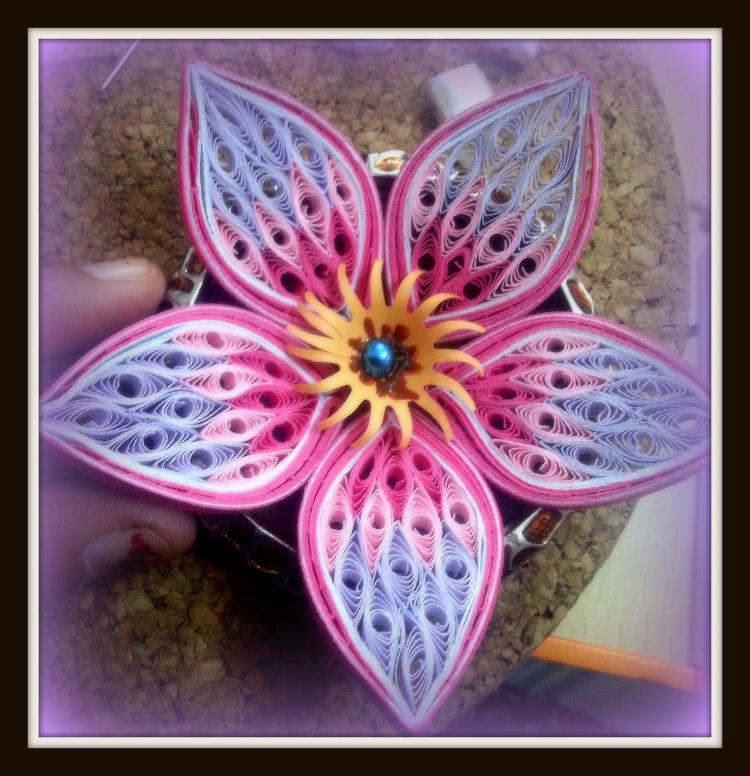Free coloring pages of paper quilling for Quilling designs how to make