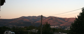 Sun kissed hills