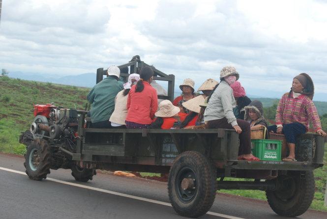 Gia Lai: Một tuần, hai vụ tai nạn liên quan đến xe công nông