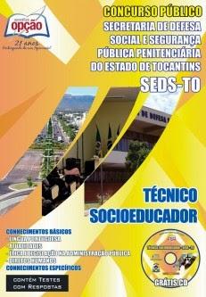 Apostila Concurso Defesa Social e Segurança Penitenciária do Estado do Tocantins/TO - Edital 2014