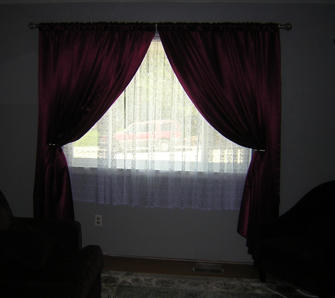 satin p panel curtains treatment crushed x to expand tailored curtain click window whisper