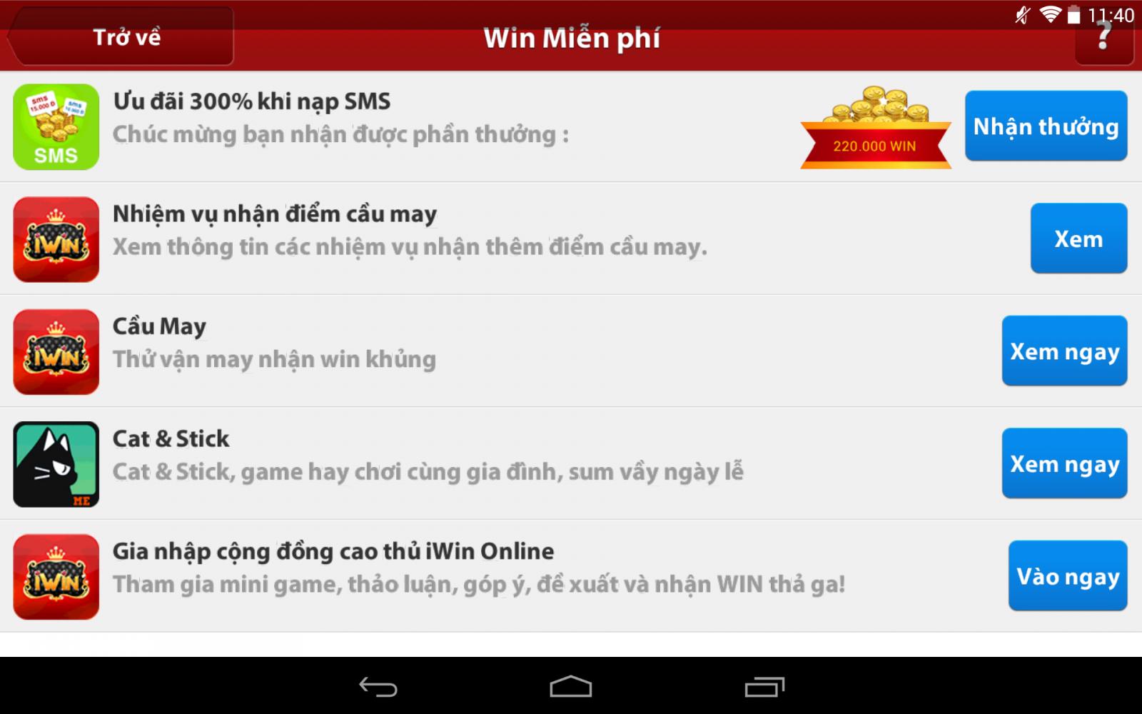 iwin 450