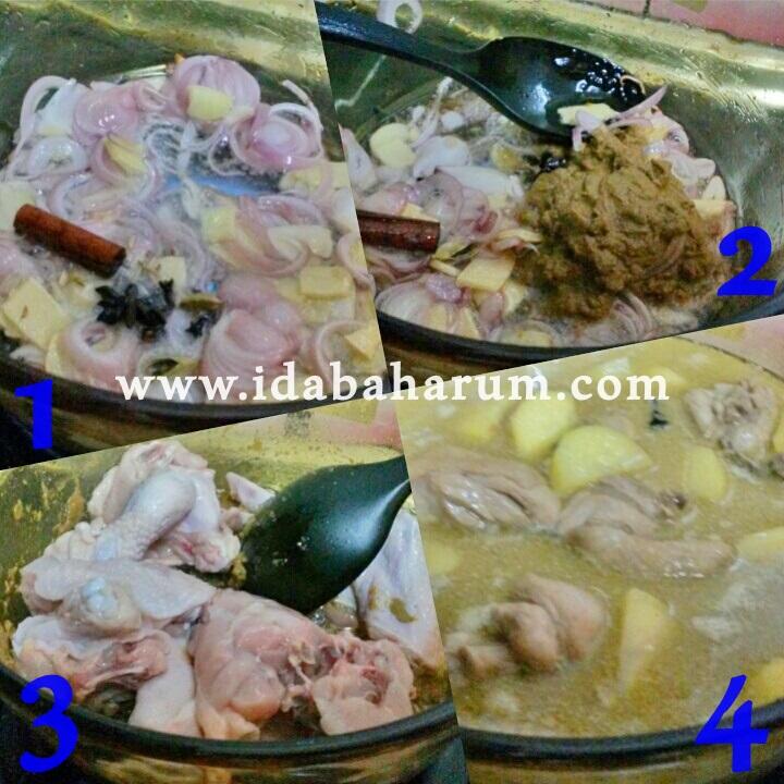 Resepi Ayam Masak Kurma Paling Senang Gedik