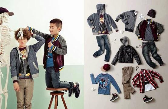 ropa niños C&A otoño invierno 2014 2015 Vuelta al cole