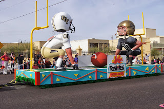 Fiesta Bowl Parade float