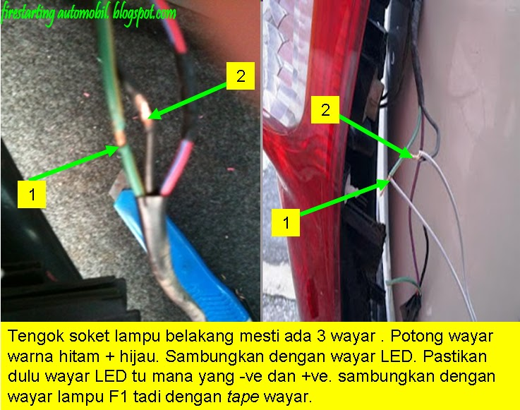fire starting automobil diy pasang flash brake light rh firestartingautomobil blogspot com