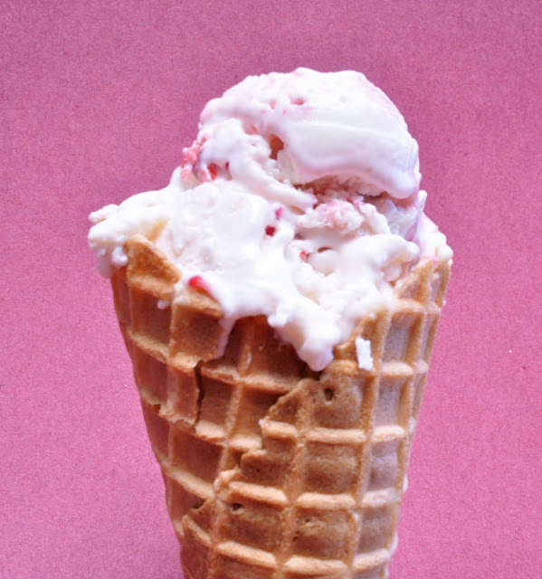 ... Left Are The Crumbs: To Try Tuesday - Strawberry Cheesecake Ice Cream