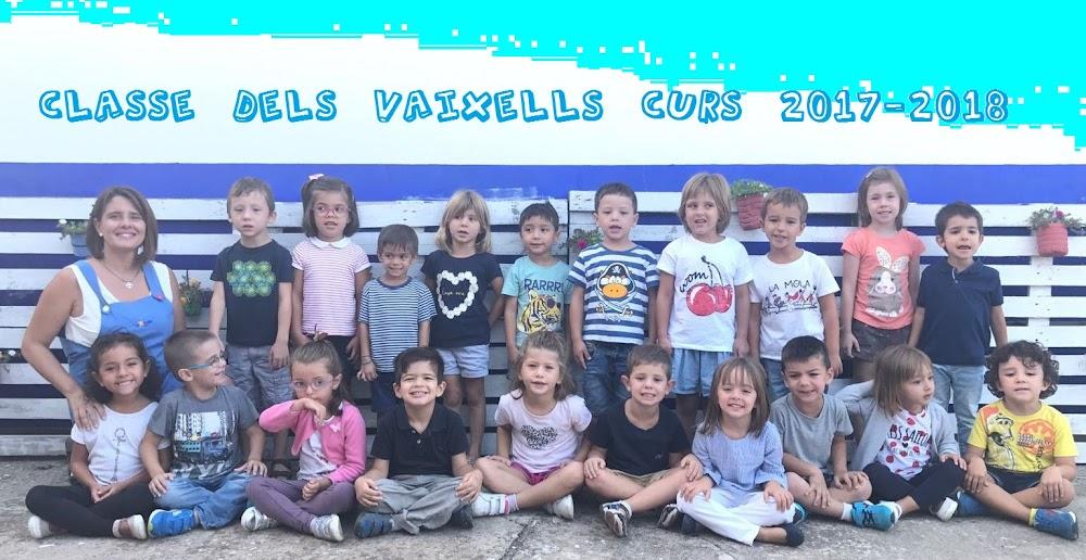 CLASSE VAIXELLS 2017-2018