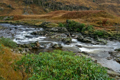 River Etive Flowing