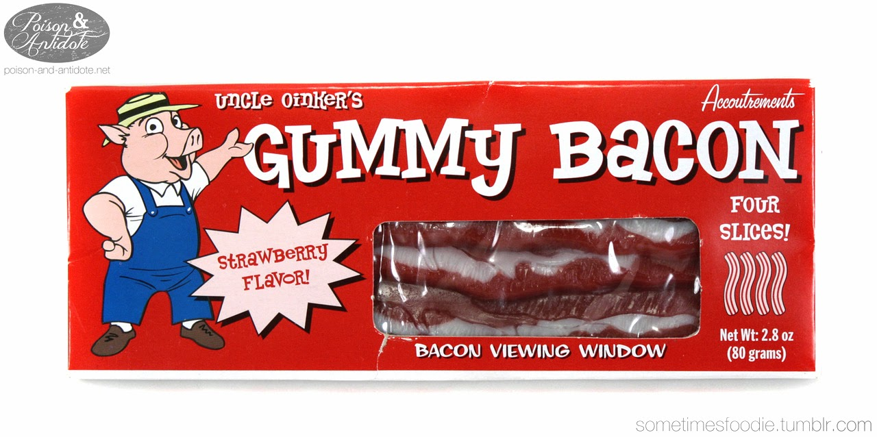 sometimes foodie gummy bacon