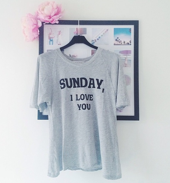 wildfox couture, bicyclette boutique, shopbicycletteboutique, Sunday i love you