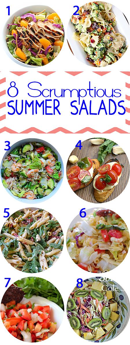 8 Scrumptious Summer Salads