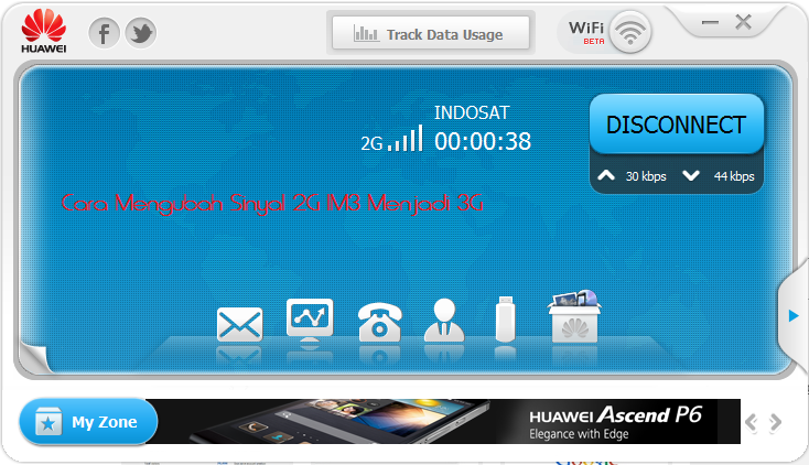 Cara Mengubah Sinyal 2G IM3 Menjadi 3G