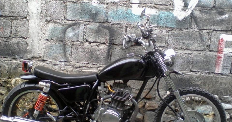 Modifikasi Motor Anak Bangsa Japstyle Bratsyle Indonesia