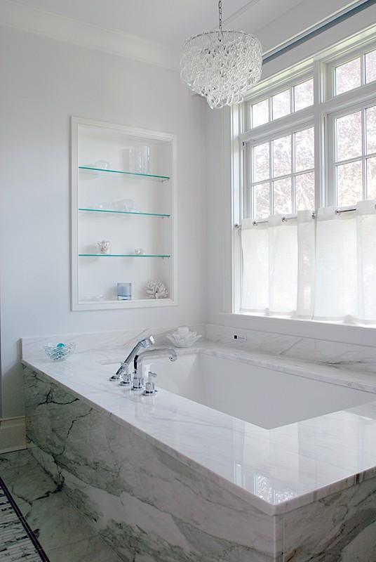 To da loos: Tub love Tuesdays: gotta love this marble slab tub base