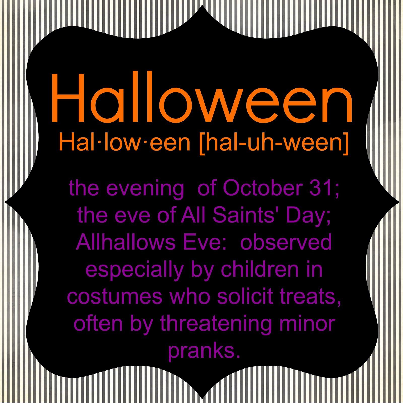 Définition Halloween | Goshowmeenergy