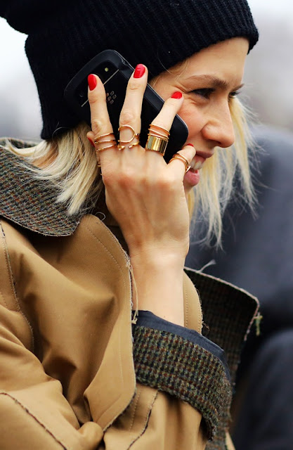 Vía Pinterest por Runway Hippie en Jubilant Jewels Desde lefashionimage.blogspot.com ph: Phil Oh | Vogue
