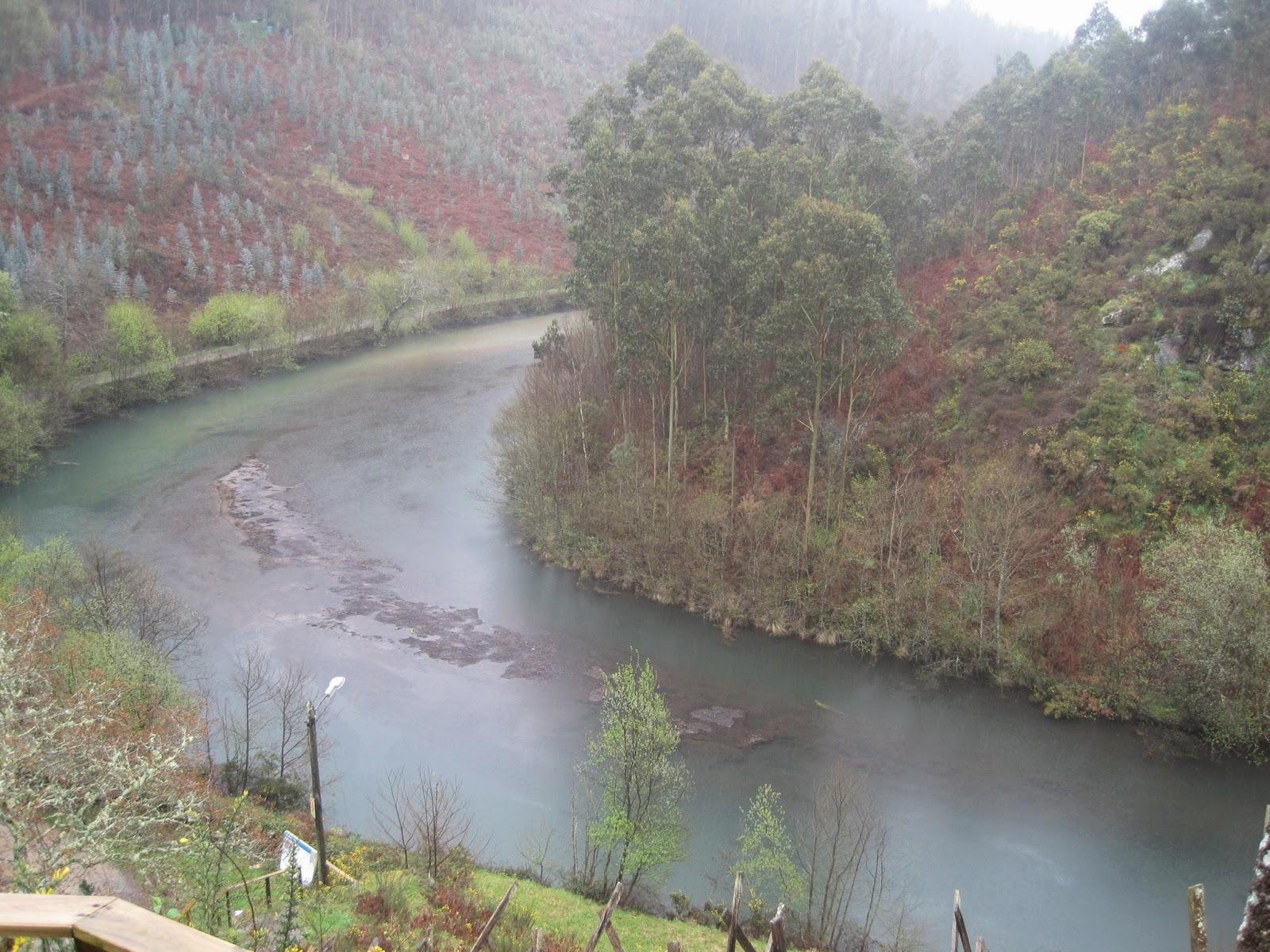 Río Castro en San Sadurniño