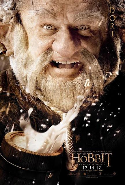 The Hobbit, character poster, dori