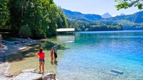 アルプ湖 ( Alpsee ) 辺りの風景