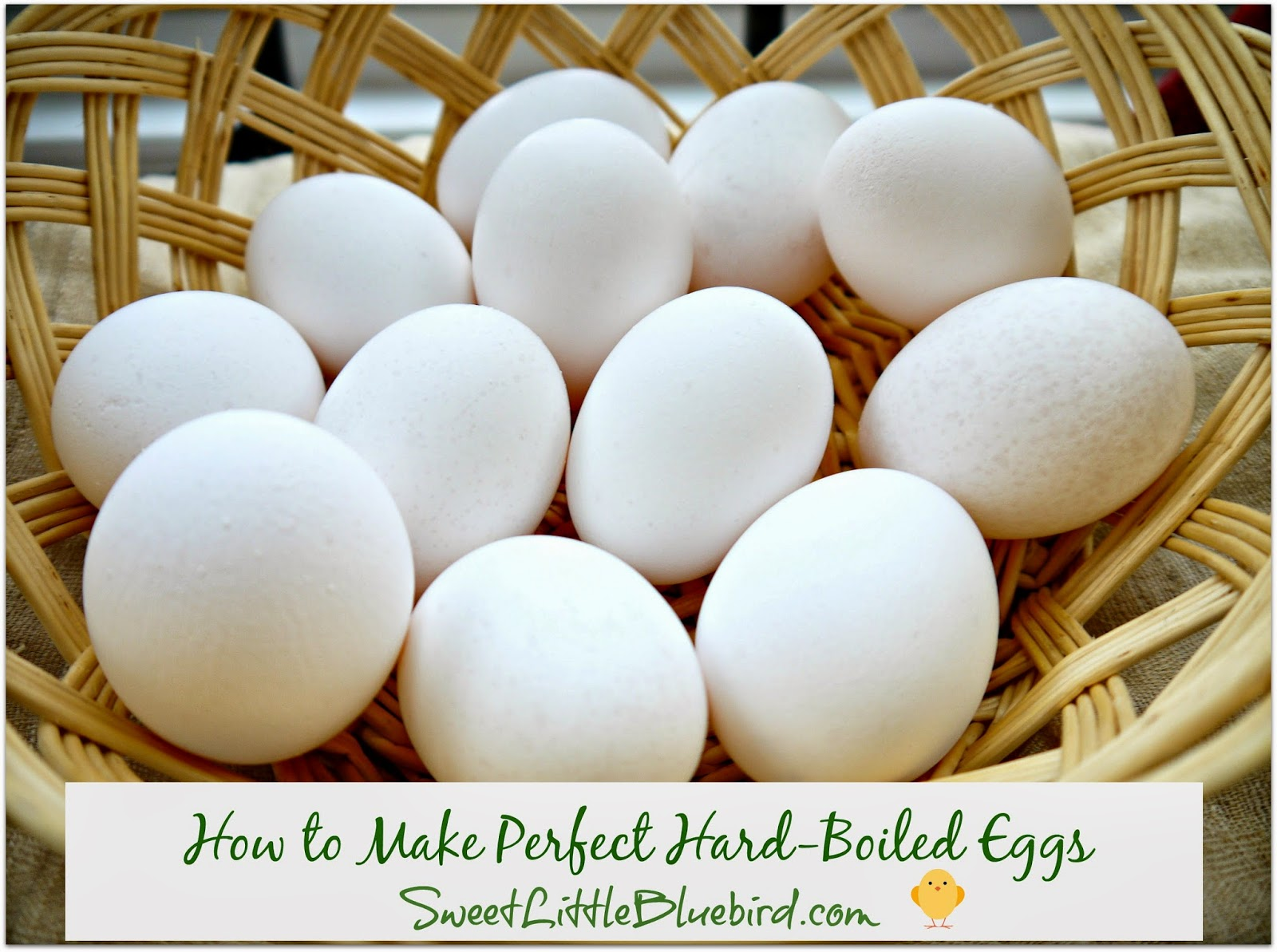 Sweet Little Bluebird: How to Make Perfect Hard-Boiled Eggs