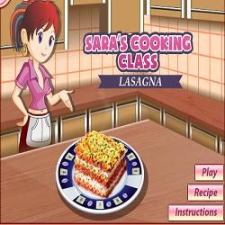 Lasagna @ Sara's Cooking Class
