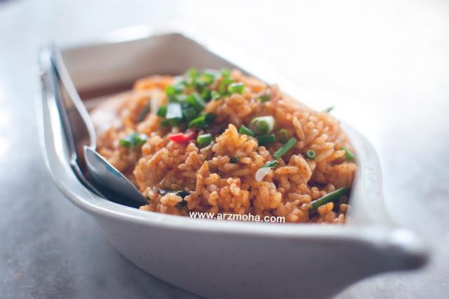 Menu wajib bulan puasa, nasi goreng makjah kuala sepetang, arzmohadotcom, juadah, menu menarik,