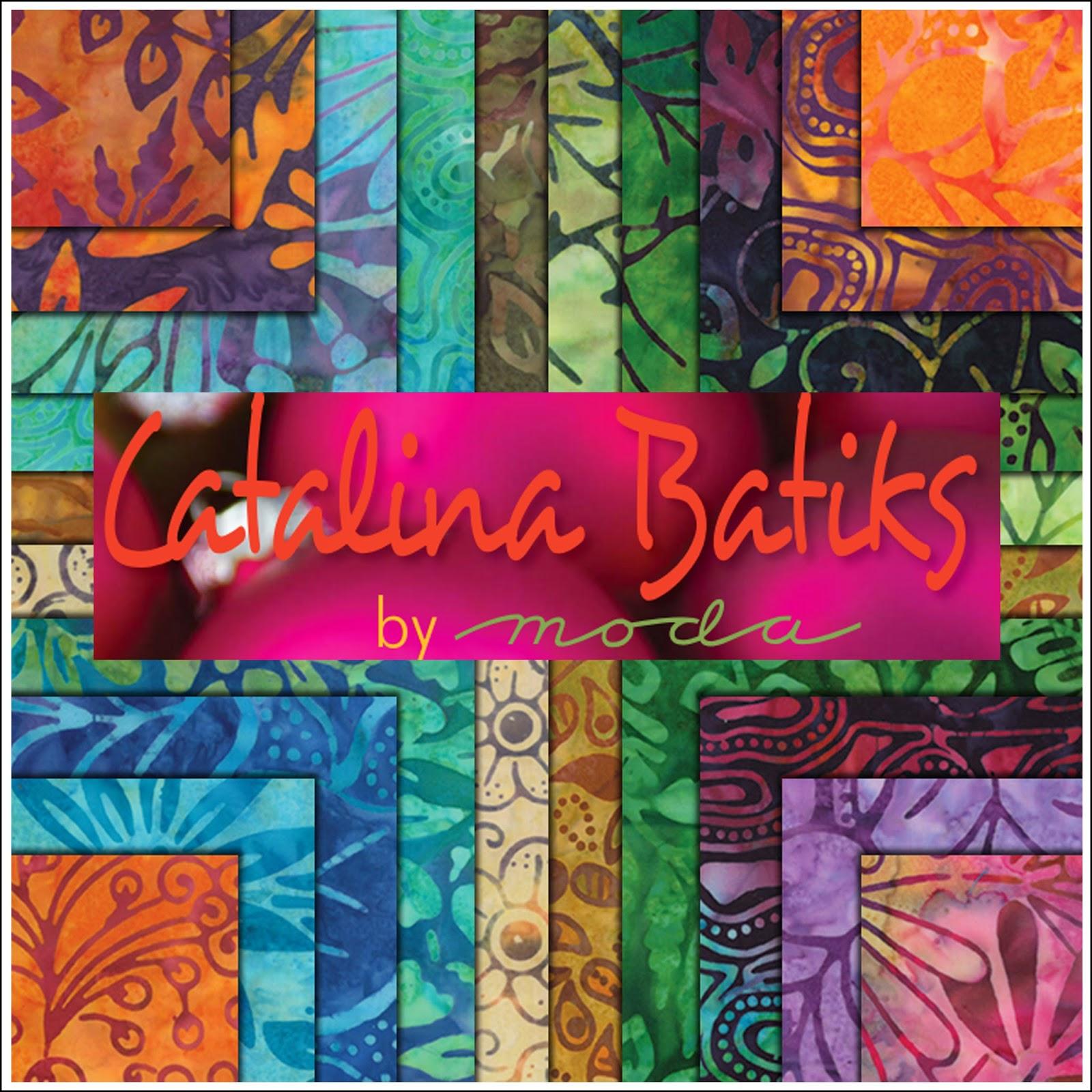 Moda CATALINA BATIKS Quilt Fabric by Moda Fabrics