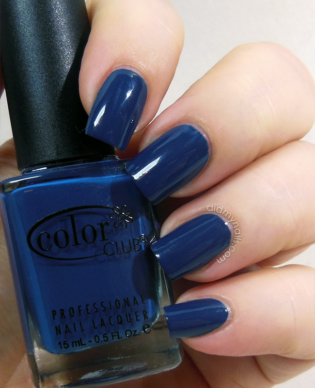 color club baldwin blues swatch