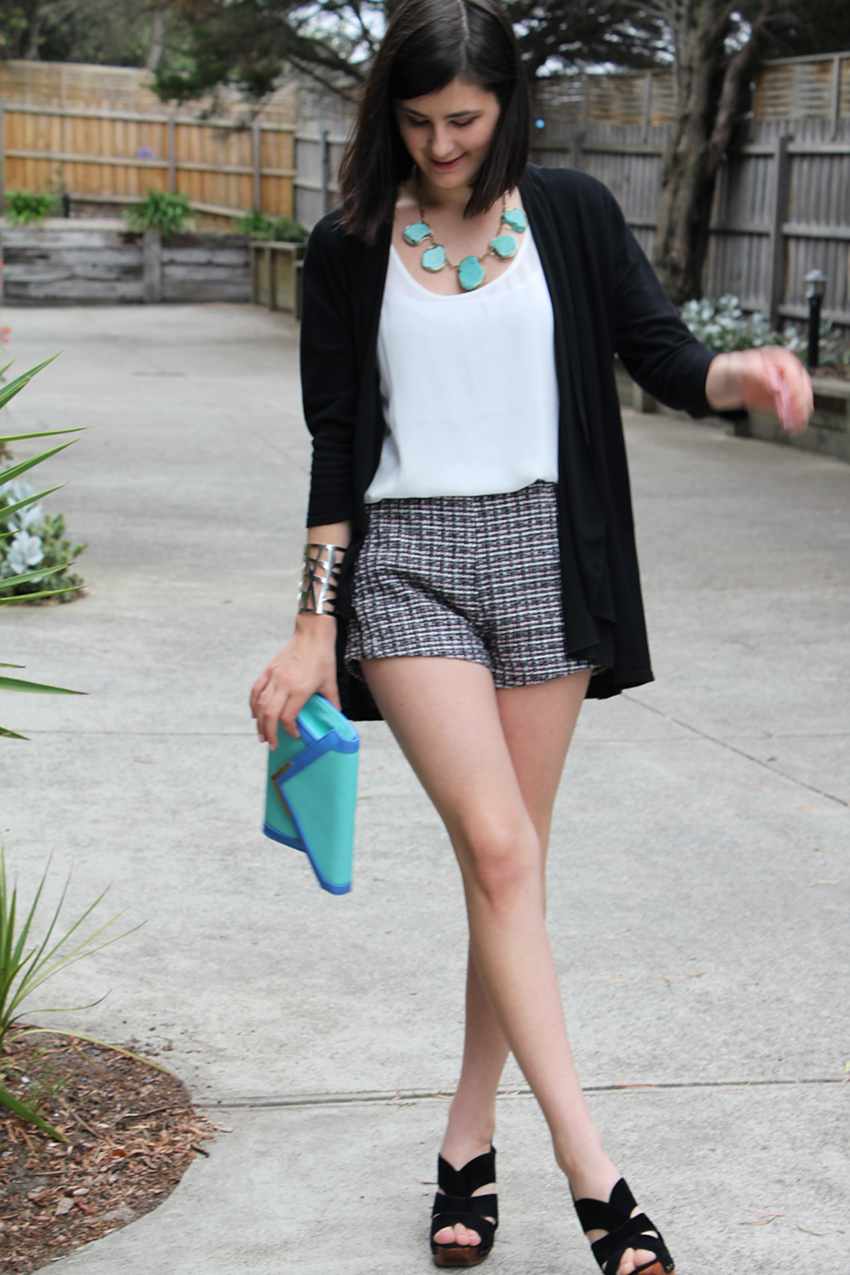 melbourne blogger, fashion blogger, ivana petrovic, australian blogger, tween, bardot, glassons, colette hayman, trend, style, fashion, suzanne grae, junk clothing, turquoise stone necklace, diva accessories