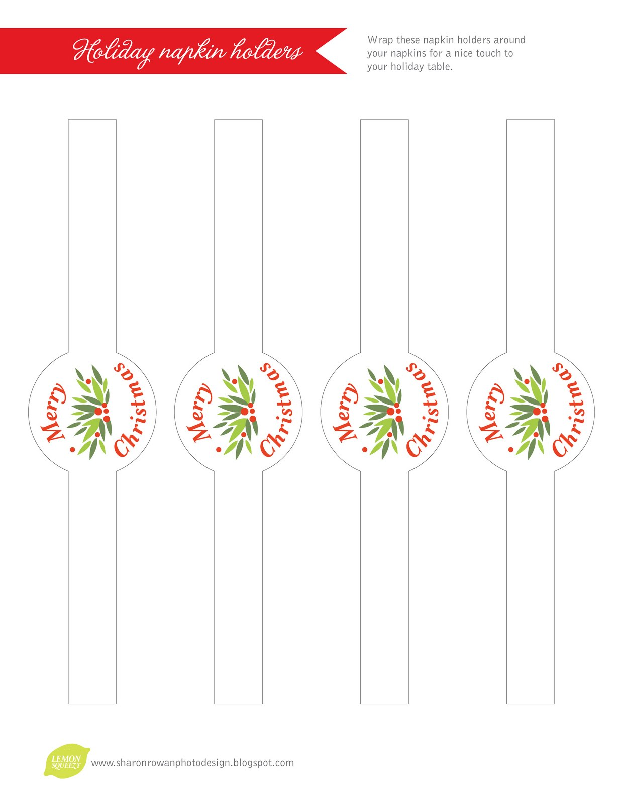 Gratis kerst printable naamkaartjes, cadeaulabels  u0026 menu u0026#39;s   Culy nl