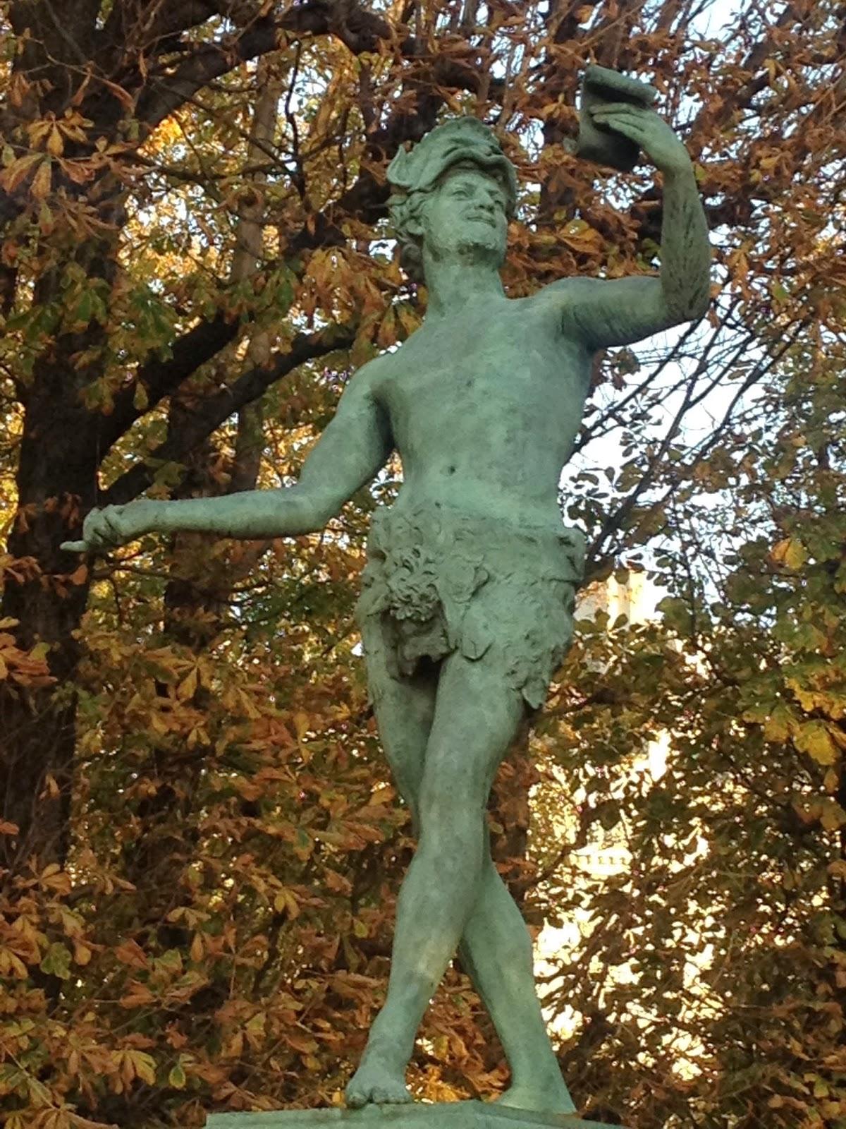 L'acteur Grec, Jardin du Luxembourg, Paris