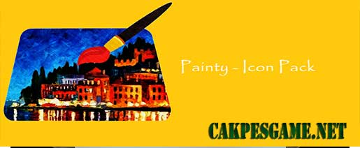 Painty – Icon Pack v1.0.9 Full Apk