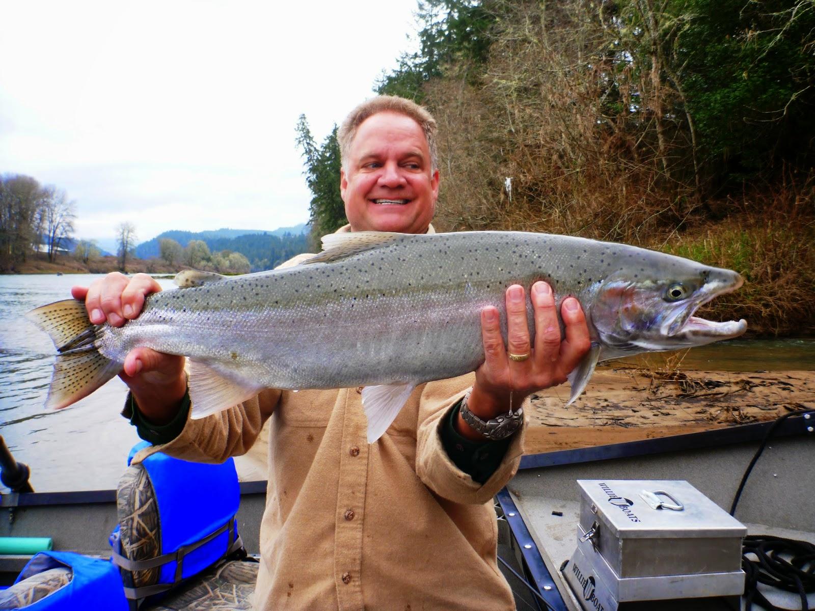 Umpqua River Steelhead Fishing.