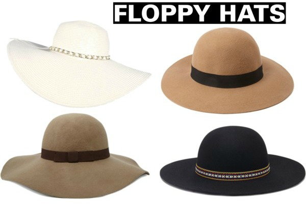 Spring/Summer 2015 Fashion Essentials floppy hats