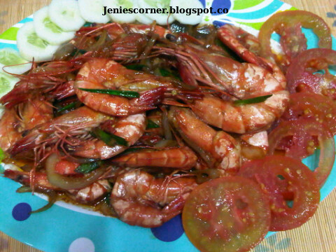 Chinese Food Week NCC: Udang Goreng Mentega by Jenie