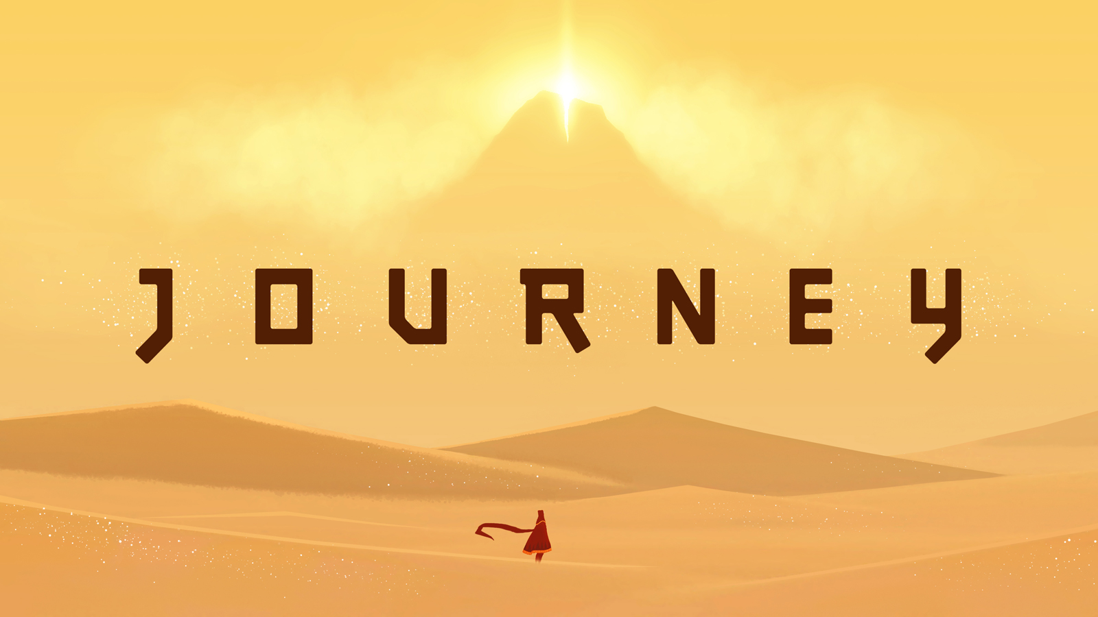 Journey video game title card