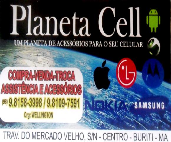 PLANETA CELL - UM PLANETA DE ACESSÓRIOS PARA SEU CELULAR - ORG: WELLINGTON
