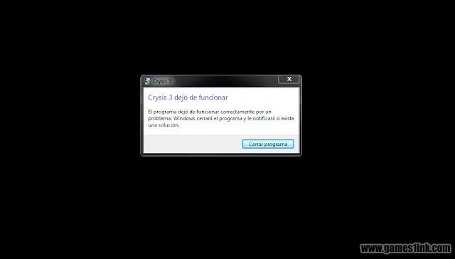 Crysis 3 Dejo de Funcionar en la Misión 2? Solución!